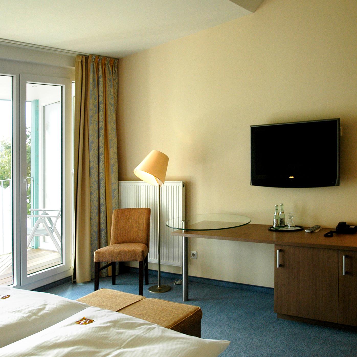 First-Class-Zimmer im Hotel Seeblick